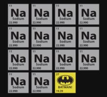 Periodic Table • Batman! by WickedCool