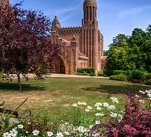Quarr Abbey by manateevoyager