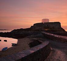 Fort Grey, sunset by Rachael Talibart