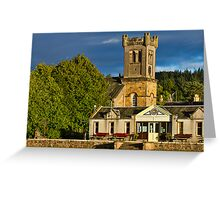 ABERLOUR - THE PARIS KIRK AND RAILWAY Greeting Card