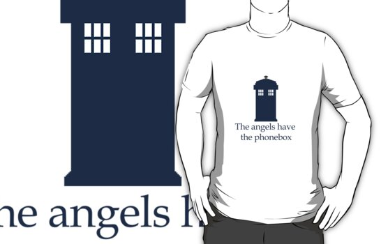 Doctor Who - The angels have the phonebox by blondiesRlovely