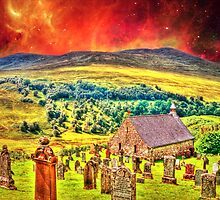 Church on the approach to Mount Doom by Steve