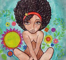 Inner Peace in Garden of Mind by BlackMonaLisa