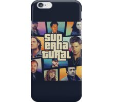 supernatural GTA iPhone Case/Skin