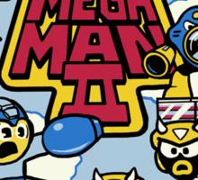 Mega Man II Sticker