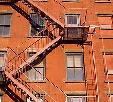 New York Fire Escape by printscapes