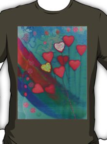 Hearts in the wind T-Shirt