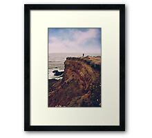 To the Ends of the Earth Framed Print