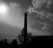 Smokestack in Hudson, NY by GeoffreyBates