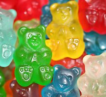 Gummy Bears by thatchikpia