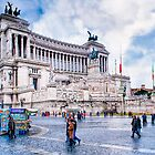 Altare della Patria - Rome's Wedding Cake by Mark Tisdale