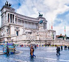Altare della Patria - The Wedding Cake by Mark Tisdale