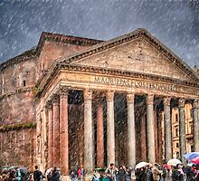 Ancient Roman Pantheon by Mark Tisdale