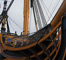 HMS VICTORY - Portsmouth - UK by Dawn B Davies-McIninch