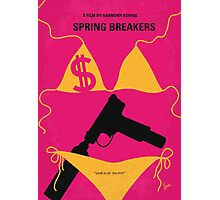No218 My SPRING BREAKERS minimal movie poster Photographic Print