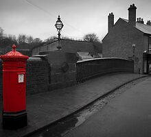 Post box by John Hallett