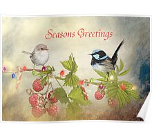 A Little Birdy Told Me .... Christmas Is On Its Way Poster