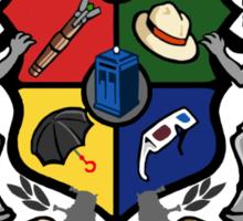 The whovian institute Sticker