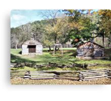Beaver Creek Village Canvas Print