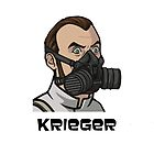 Krieger Mask iPhone Case by TrasmusLime