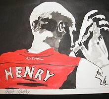 Thierry Henry by Colin  Laing