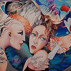Over the Rainbow. Original Sold. by Tatyana Binovskaya