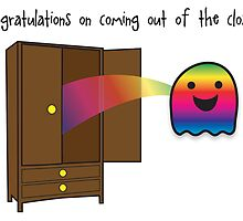 Congratulations on coming out of the closet! by BubblegumPalace