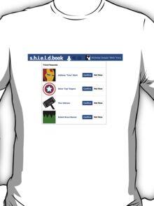 s.h.i.e.l.d.book T-Shirt