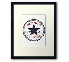 Smash Mouth - All Star Framed Print