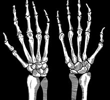 These are my bones BLACK by nabila  rouabah
