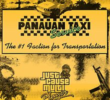 Panauan Taxi Service (1980s) Splash by dab88