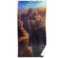 Spectrum of Mana: Lofty Mountain Poster