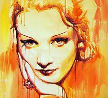 Marlene Dietrich by Marta-Zawadzka
