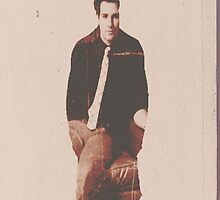 James Maslow Silhouette by knightofhell
