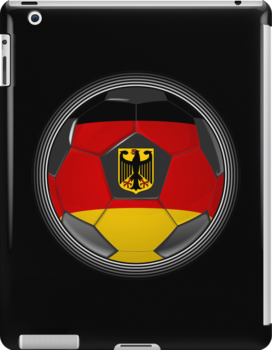 Germany - German Flag - Football or Soccer by graphix