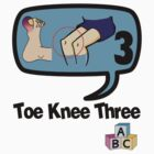 Toe Knee Three - make next election count. by KISSmyBLAKarts