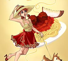 Fashion Plates: Dinner by sephiramy