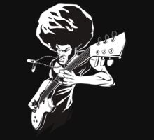 Afro Rock Guitarist by styleuniversal