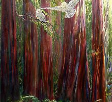 OLD GROWTH AND  SNOW OWLS by Doria