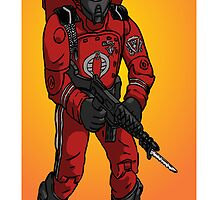 G. I. Joe Cobra Crimson Guard by Matt Molleur by Matt Molleur