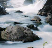 Tranquility at Great Falls by Cranemann