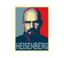 Obamized Mr Heisenberg (Red) Art Print