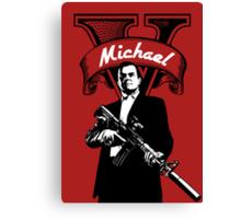 GTA 5 - Michael  Canvas Print