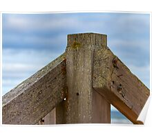 LOSSIEMOUTH EAST BEACH - STILL STANDING  Poster
