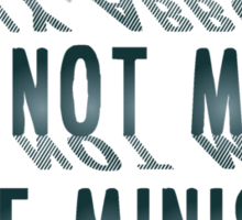 Tonny Abbott Is Not my Prime Minister Sticker