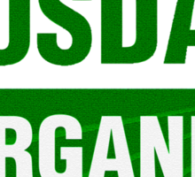 United States Department Of Agriculture Organic Certificate Sticker