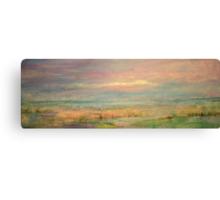 Pink Blakeney Norfolk,UK Canvas Print