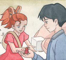 Ghibli Valentine - [07] by JessicaMariana