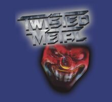 Twisted Metal Logo with sweet tooth by Nozixa