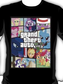 GTA V: Pony edition T-Shirt